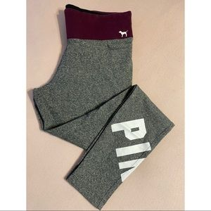 VS PINK • HIGH WAIST COTTON LEGGING